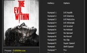 The Evil Within: Trainer [v1.0] [Update 17.07.2017]